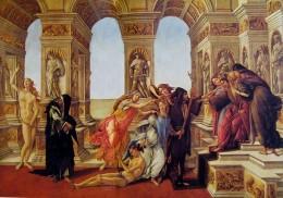 La calunnia, cm. 62 x 91, Galleria degli  Uffizi, Firenze